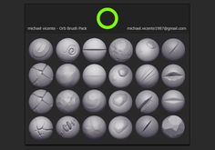 "Hi, I'm a senior environment Artist at Blizzard entertainment. You may know or have seen people using the ""Orb cracks"" brush here and there for years. Here's now the entire pack available for all. Most of the brushes are ""behavior"" brushes, meaning that they will help you achieve a certain look (mostly stylized) with your personal way of sculpting. You can check some of my work on my website: https://www.artstation.com/artist/orb. http://orbfolio.blogspot.com/. installation: Uncompress the…"