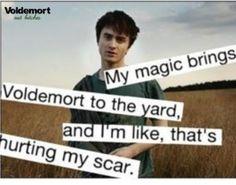 Haha a Harry potter twist on an already funny song
