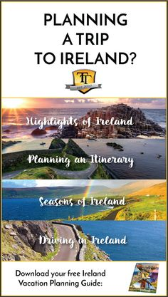 Planning a trip to Ireland and want to learn more? Download this guide!