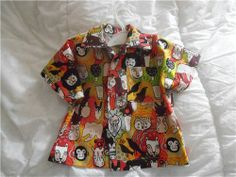 super cool toddler's shirts http://www.modes4u.com/en/kawaii/p20222_Faces-of-Liwaza-animal-fabric-by-Alexander-Henry-USA.html