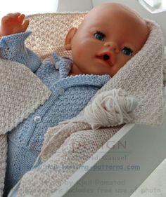 Baby doll knitting patterns