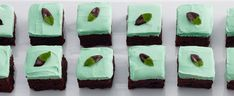 Duncan Hines® Mint Chocolate Brownie Bars