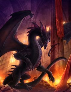 Dragon Doom by Jason Engle (website | DeviantArt)