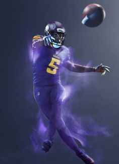 Minnesota Vikings - 2016 NFL Color Rush Uniform