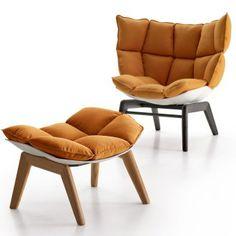 Patricia Urquiola husk chair & stool