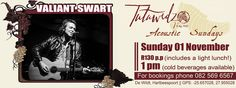 Valiant Swart is much, much more than just another singer/songwriter, rocker or folkie. He is a poet who offers his poetry in musical form.