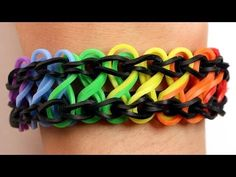 Kopje Thee(a): Rainbow Loom PDF Instructies: Infinity armband Rainbow Loom Tutorials, Rainbow Loom Patterns, Rainbow Loom Creations, Rainbow Loom Bands, Rainbow Loom Bracelets, Loom Band Bracelets, Rubber Band Bracelet, Loombands Tutorial, Loom Bands Instructions