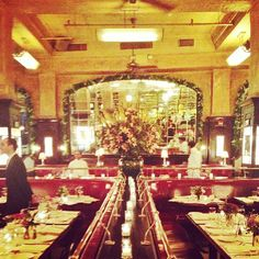 Balthazar - SoHo, New York.  A spinoff of the famed brasserie, this bustling take-out spot serves French cafe fare & pastries.