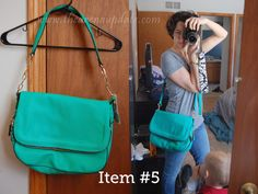 This is a bag I would love. Big enough - long single strap, fun color! Perfect!