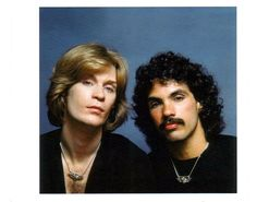 Daryl Hall and John Oates --- hit makers of the 70s and 80s. Click on their pic to listen to/view the video for their 1984 tune, 'Out of Touch'.
