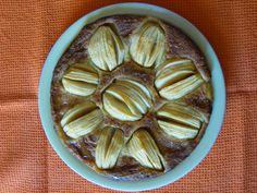 Almond-apple soft tarte
