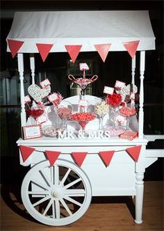 Candy cart west yorkshire