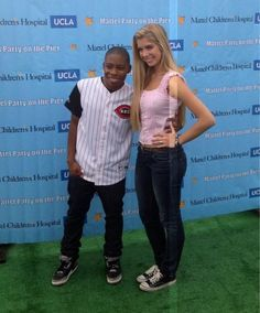 """A.N.T. Farm"" Stars, Allie DeBerry And Carlon Jeffery, At The Mattel Party On The Pier"