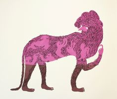 Who wouldn't love this whimsical screenprint? panther-copy-blog
