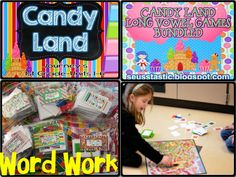 Loads of Daily 5 word work ideas & freebies galore! #seusstastic #daily5