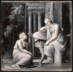 Plaque : Cérès refuse son aide à Psyché