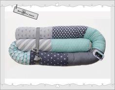 Nestchen - Bettschlange, Bettrolle, Nestchen, Lagerungskissen - ein Designerstück von theminipeace bei DaWanda