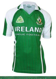 Croker Ireland Sublimated Gaelic Football Jersey Mens Irish Drifit Shirt NEW Sports Shirts, Tee Shirts, Football Jerseys, Sportswear, Soccer, Clothes, Men's Clothing, Irish Clothing, Men Fashion