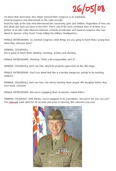 gun control humor... hahahaha!  Okay, one of the best gun control jokes I've ever seen.