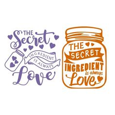 Secret IngredientSVG Cuttable Design Cut File. Vector, Clipart, Digital Scrapbooking Download, Available in JPEG, PDF, EPS, DXF and SVG. Works with Cricut, Design Space, Cuts A Lot, Make the Cut!, Inkscape, CorelDraw, Adobe Illustrator, Silhouette Cameo, Brother ScanNCut and other software.