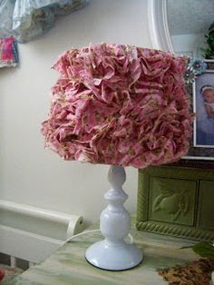 Love this lampshade, not sure how much light it will give off though
