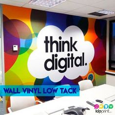 Adhesive Wall Vinyl Low Tack!  We have only the best for you! 1-800-418-8157  Order online: http://www.ldpprint.com   #Adhesive #Print #Design