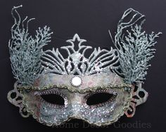 Masquerade Wedding, Masquerade Theme, Masquerade Ball, All The Small Things, Mask Ideas, Sea Foam, Party Hats, Under The Sea, Mardi Gras