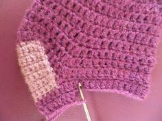 HOY os presento un patrón BÁSICO para hacer calcetines a crochet de la talla y color que deseéis, en este gráfico tenéis los puntos nece... Crochet Baby Poncho, Crochet Socks, Knitted Hats, Boodles, Hosiery, Beanie, Stitch, Knitting, Clothes