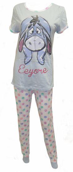 c00ea4f83f Disney Eeyore Ladies Pyjamas UK 1618     See this great product. Carissa  Hickel · Pajamas