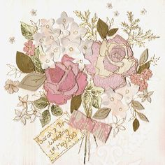 I absolutely adore the work of Claire Coles, who I recently discovered via one of her greeting cards. And today's post starts off with three of her beautiful floral-inspired cards. Machine Embroidery Applique, Ribbon Embroidery, Embroidery Art, Creative Textiles, Wallpaper Decor, Pretty Cards, My Favorite Color, Textile Art, Flower Power