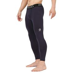4f35e571ea60bf 10STAR11 ARMEDES Men's Compression Quick Dry Baselayer Training Athletic  Long Tights ** To view further