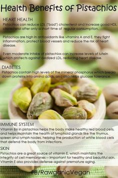 health benefits of pistachios Proper Nutrition, Health And Nutrition, Health And Wellness, Vegan Nutrition, Men Health, Wellness Tips, Health Care, Vegetarian Facts, Vegetarian Cooking