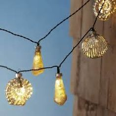 Unique Pier One Outdoor String Lights