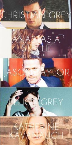 Fifty Shades of Grey cast