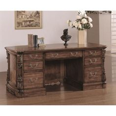 Wildon Home Angelina Executive Desk