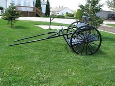 Two Wheel Horse Cart