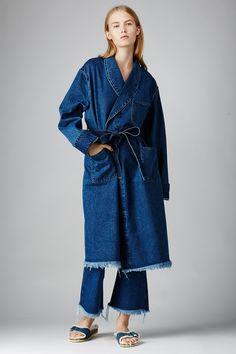 MARQUES'ALMEIDA denim bathrobe