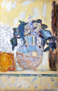 Pierre Bonnard - Flowers. #artists #bonnard