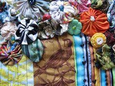 Pattern, Color, and Texture: Calamity Kim: Enchanted Yoyo Garden
