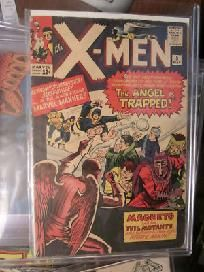 X-men #5 Jack Kirby art  Stan Lee 1960's 1st series From Graphic Illusion Comics and art...visit my site.