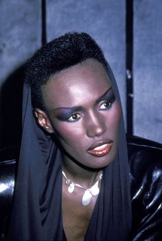 Grace Jones. Just look at this gorgeous, gorgeous woman.
