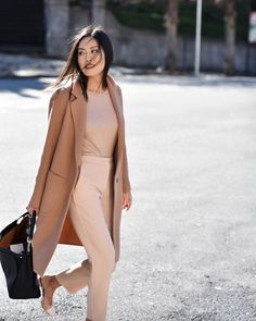 Shades of camel #style #fashion