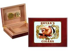 21 All-In Poker Gift Ideas for the Card Shark in Your Life - Gentleman's Agreement Personalized Cigar Humidor