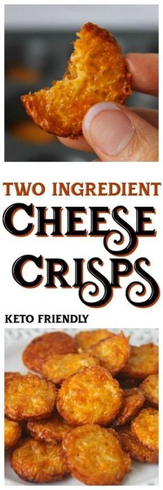 Sometimes the best recipes are the most simple! These delicious little cheese crisps will be your new favorite keto snack! Sometimes the best recipes are the most simple! These delicious little cheese crisps will be your new favorite keto snack! Ketogenic Recipes, Low Carb Recipes, Diet Recipes, Cooking Recipes, Fun Recipes, Recipies, Vegetarian Recipes, Recipes Dinner, Delicious Recipes