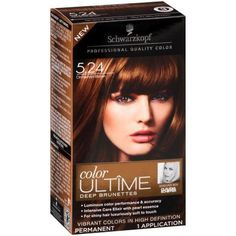 50 trendy Ideas for how to color hair at home brown Hair Color Cream, Ombre Hair Color, Brown Hair Colors, Hair Colour, Color Kit, To Color, Schwarzkopf Hair Dye, Cinnamon Brown Hair Color, Colored Box Braids