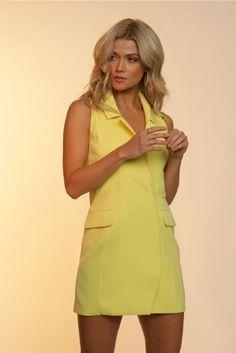 Shop Fletch OLIVIA VEST DRESS Fletch by Joelle Fletcher