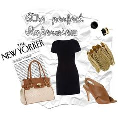 The perfect interview look, the little dress business chic, #interview outfit #interview