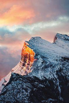 "banshy: ""Banff, Alberta by Bennett Sell-Kline """