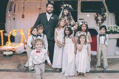 O casamento boho chique de Debora e Antônio