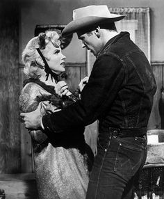 *Bus Stop movie Still (Marilyn Monroe and Don Murray)